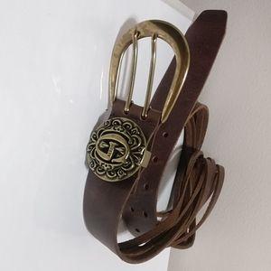🇨🇦 Guess Vintage suede belt XL